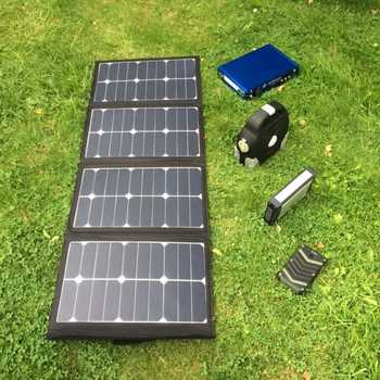 MSC 90W/120W 5v/12v/19v SunPower Folding Solar charger