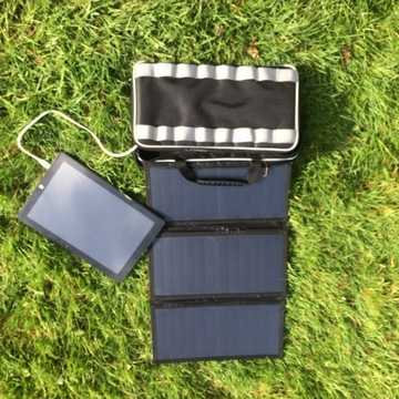 MSC 20w/26w SunPower 5v/12v folding solar panel