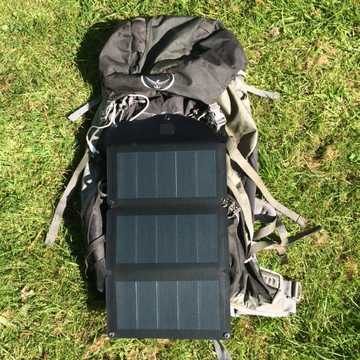 MSC Expedition ETFE CIGS lightweight 10W folding solar charger