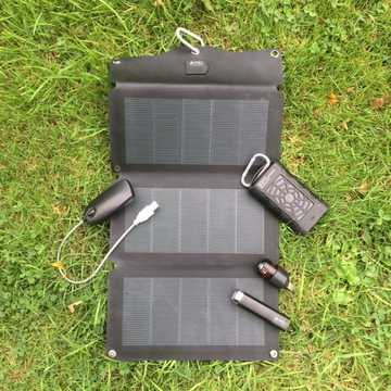 MSC Expedition CIGS 10W Lightweight Solar, 2 x Power Banks, torch, LED light Special Offer £35 saving