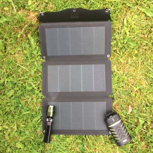 MSC 10W CIGS Solar Charger
