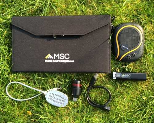 MSC 12w Travel and Trek charging Package