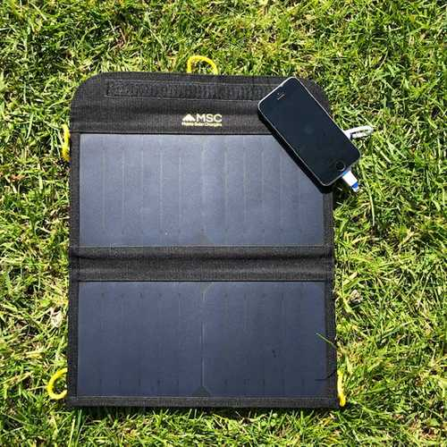 MSC 13W Sunpower & Slim Power Bank