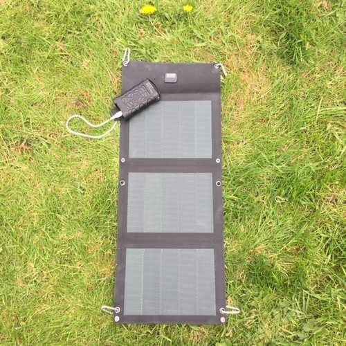 MSC 15W CIGS Solar Charger