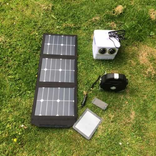 Which Charger?   Solar Powered Mobile Phone Charging