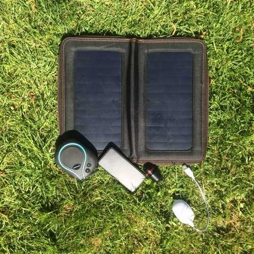 MSC Diving & Marine solar charger, power bank Package