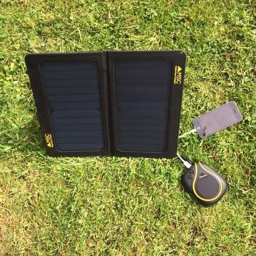 MSC Folding 13w Solar panel Charger