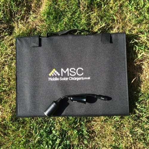 MSC Folding 45w Solar panel Charger