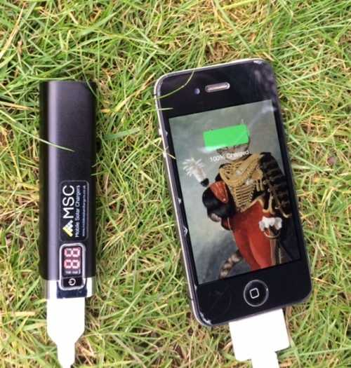 MSC Power Stick & iPhone 5s