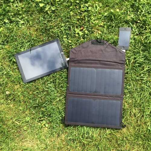 MSC Travel Solar camping charger