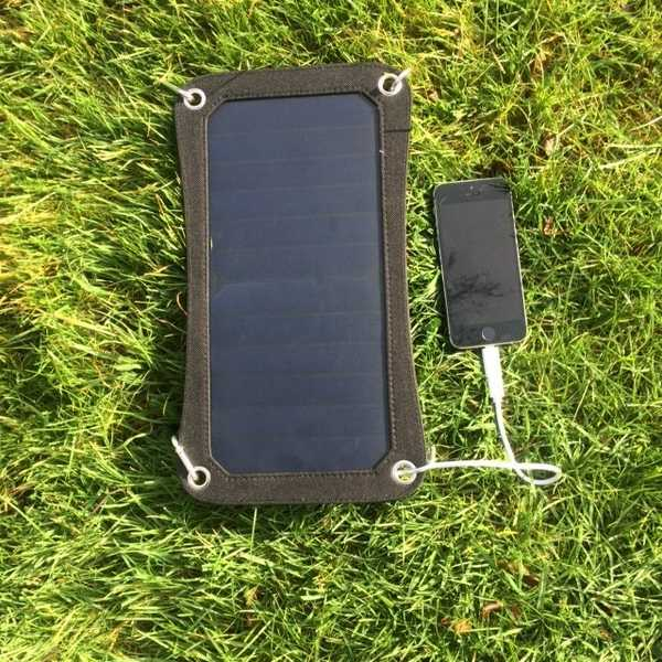 MSC  6.5w Light-weight usb 6v/1A solar panel charger