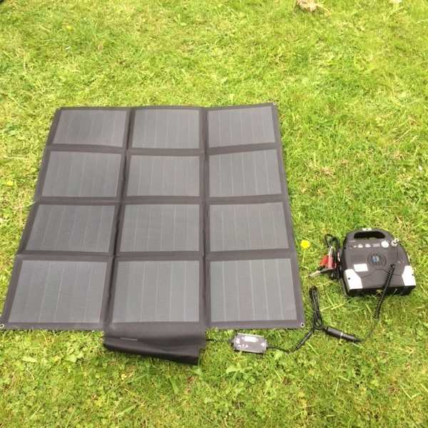 MSC Expedition 50W/100W ETFE CIGS Light-weight USB 5v & 18v Portable Solar Panel Charger
