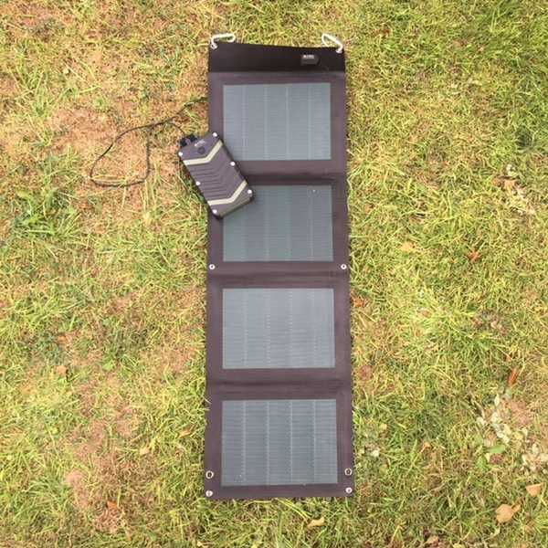 MSC Expedition 20W dual USB ETFE CIGS Ultra-Lightweight Folding Solar Charger