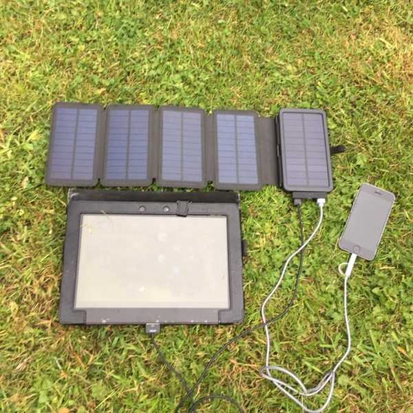 MSC Travel + 7.5W Solar Charger | Detachable Power Bank 10000mAh