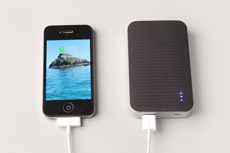 Festival phone charger & iPhone 5, 5s Power Bank, 4000mAh