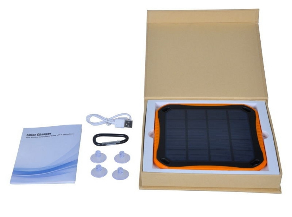 Msc Trek Waterproof 2 5w Solar Charger 5800mah