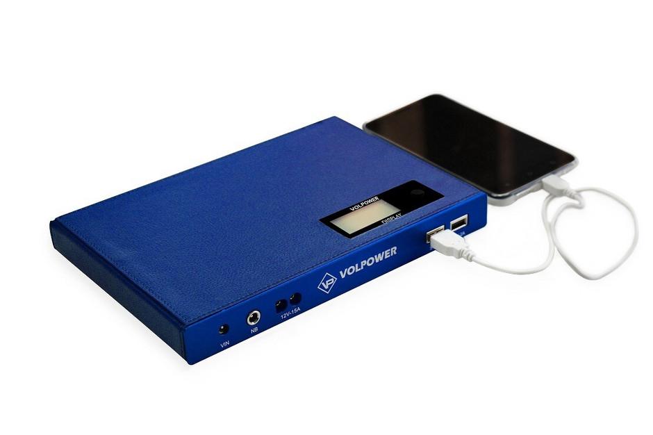 Msc Super Power Bank 47 000mah 5v 9v 12v Usb Amp Laptop