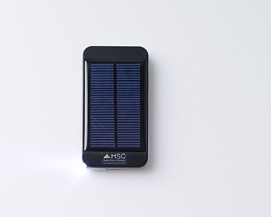 MSC Lite Solar travel backup emergency phone charger