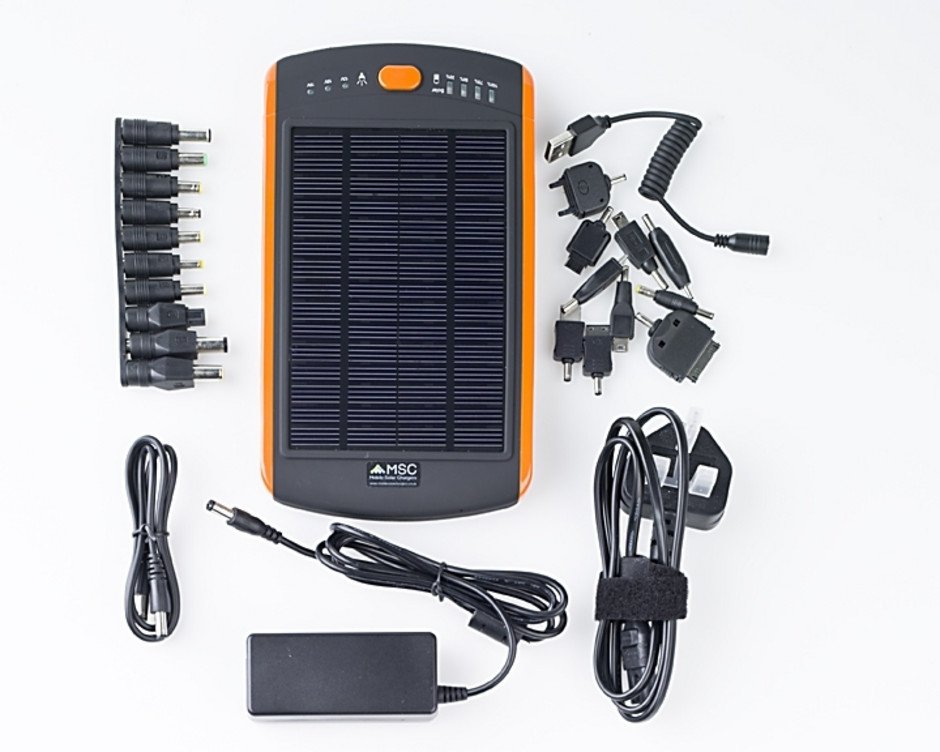 Safari Solar Charger Samsung Batteries 23000mah 12