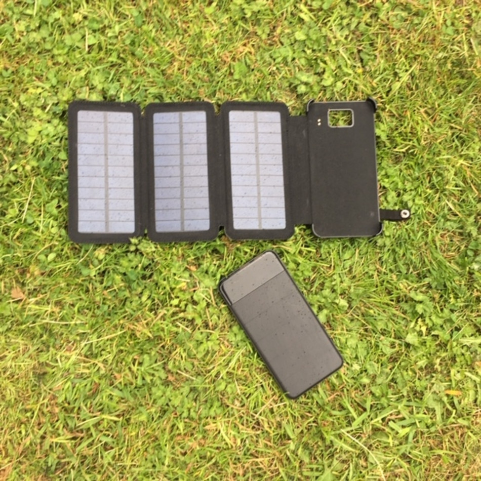 Msc Travel 4 5w Dual Usb 8000mah Solar Charger