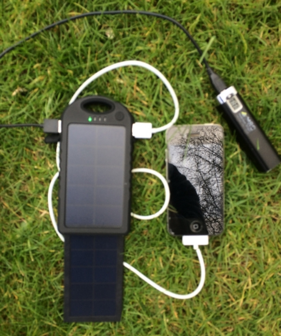 detailed look 4211f d436a MSC Travel + Waterproof 2.2w Solar Charger 5000Mah (2+ phone charges)