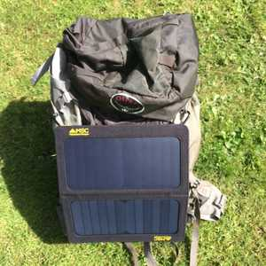 MSC 13W SunPower Folding Solar Panel Charge