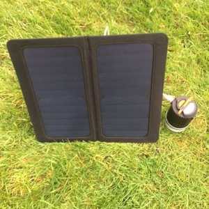 MSC 13W SunPower Folding Solar Panel Charger & MSC 9000mAh Lantern