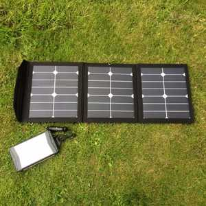 MSC 52Ah Super Power Bank & MSC 45W Solar Panel