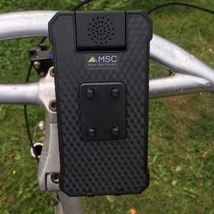 MSC Bike phone charging cradle and detachable power bank 2