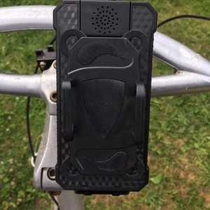 MSC Bike phone charging cradle and detachable power bank 3