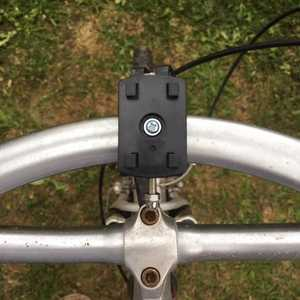MSC Bike phone charging cradle and detachable power bank