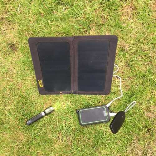 MSC Solar panel and Boat power bank Package